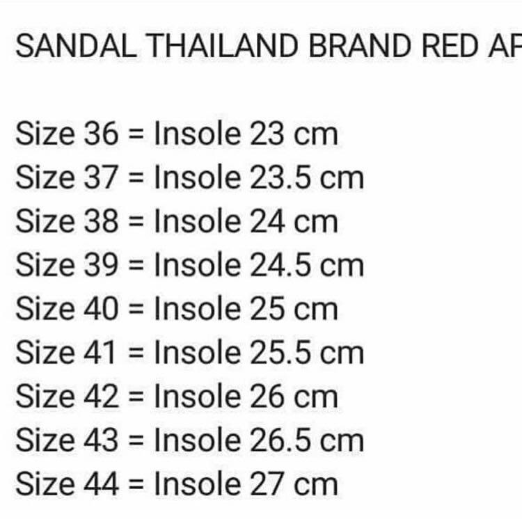 Red Apple from bangkok, Fesyen Wanita