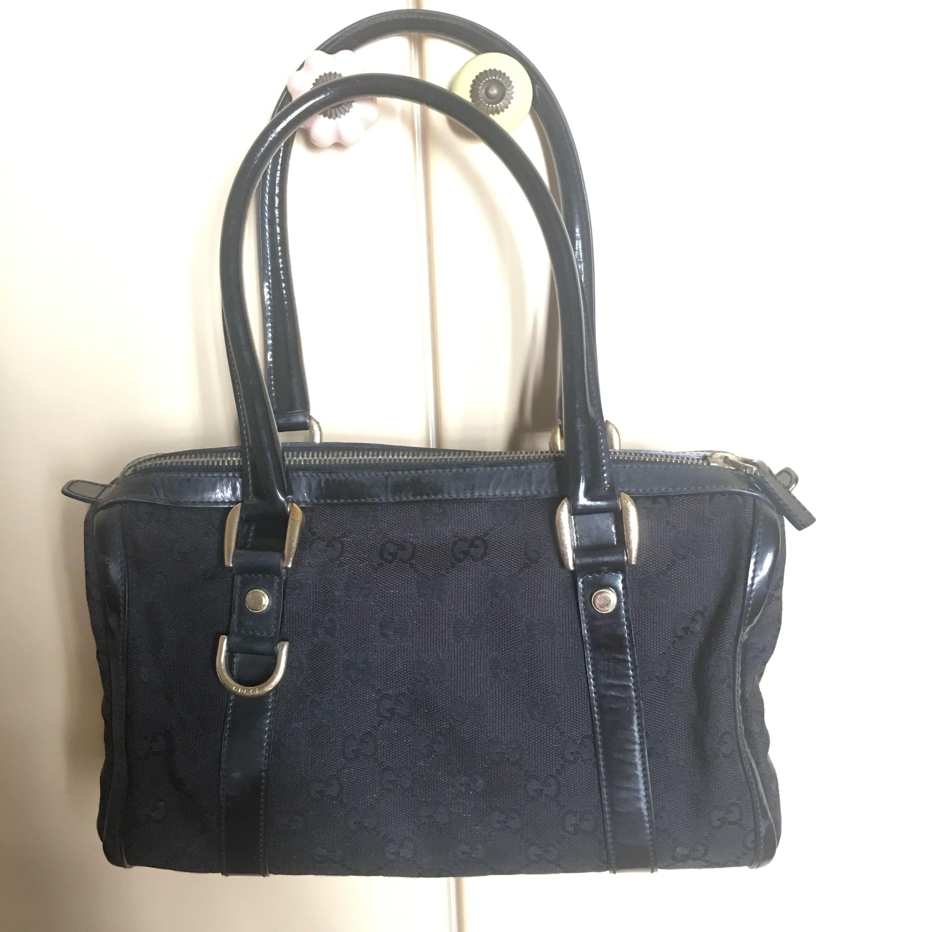 Clearance Vintage Gucci Boston Bag