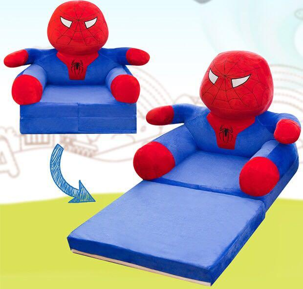 Výsledok vyhľadávania obrázkov pre dopyt kids plush sofa spiderman