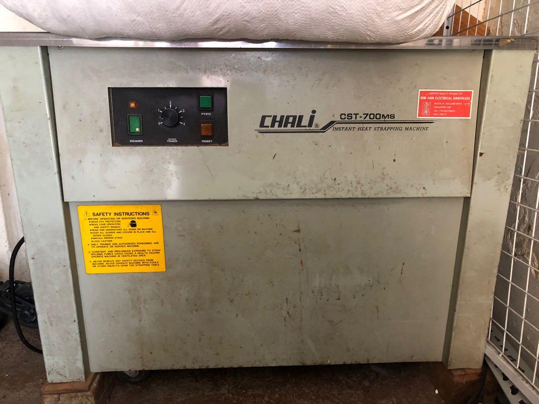 Strapping Machine - Chali CST - 700ms on Carousell