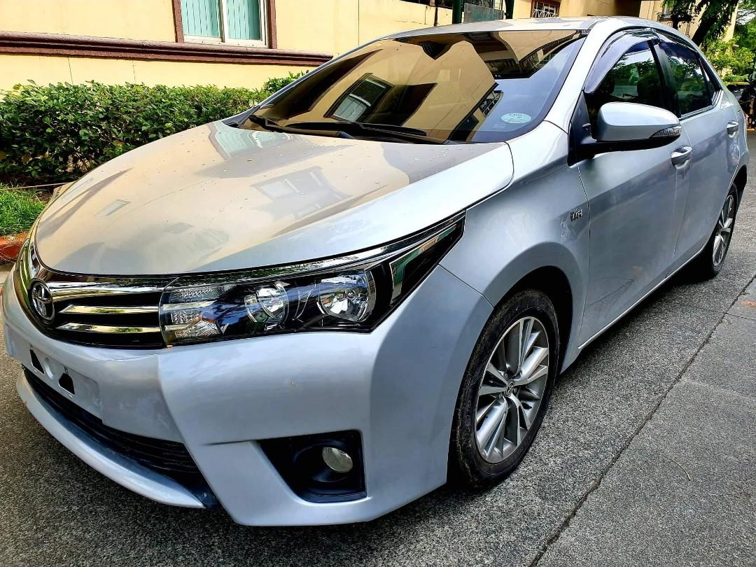 toyota corolla altis.2016 model.manual transmission.