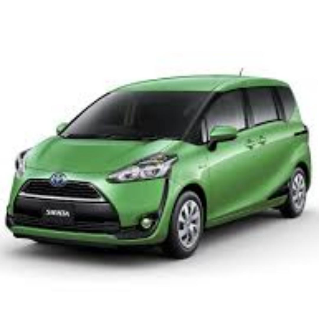 toyota sienta hybrid Eligible for Grab / PHV / Personal Use