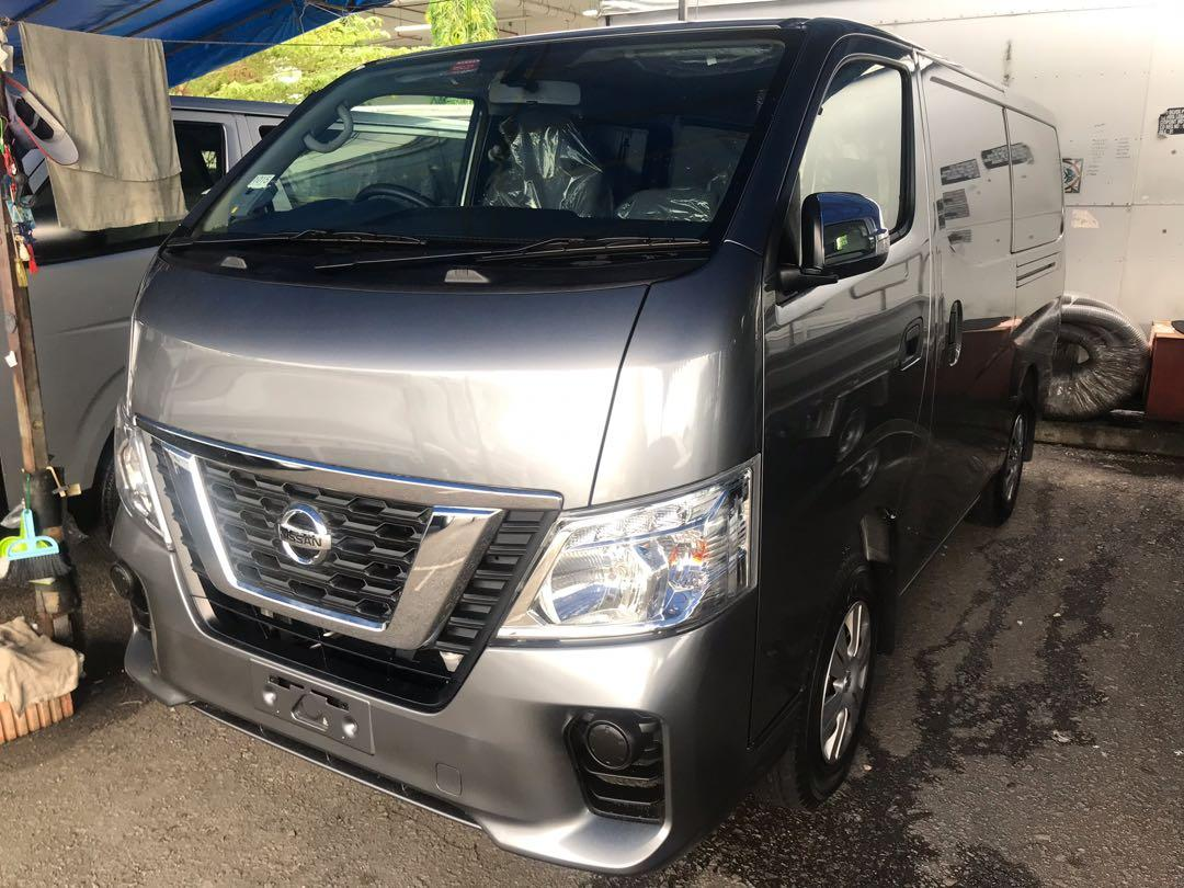 Unregistered Brand New Nissan NV350 New Facelift (Agent Nissan Tan Chong Model)