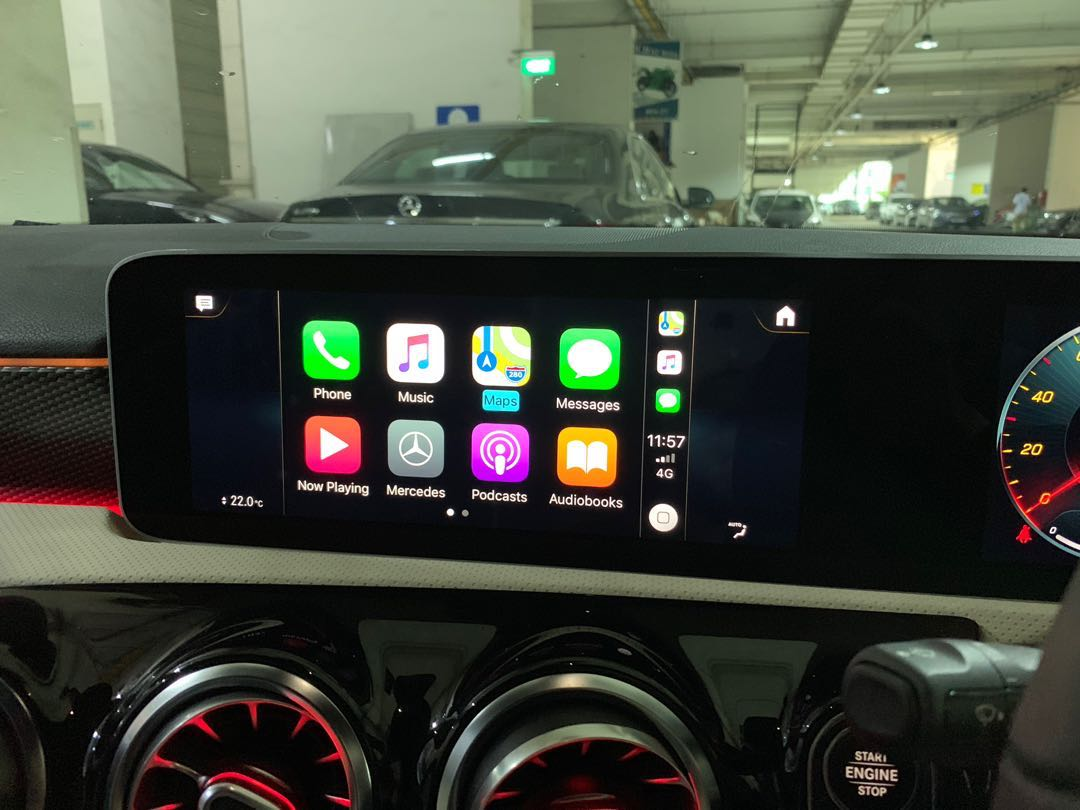 W177 Mercedes A Class MBUX NTG6 0 HU6 CarPlay Android Auto Activation