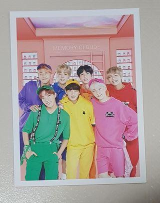 (wts/instocks) bts official 4th muster dvd postcard