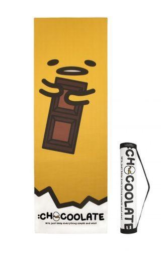 🚚 Chocolate x 蛋黃哥瑜伽墊