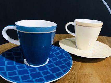 【德國陶瓷】Villeroy & Boch 茶杯 咖啡杯 茶盤 茶托