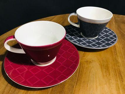 【德國陶瓷】Villeroy & Boch teacup 茶杯 咖啡杯 茶盤 茶托