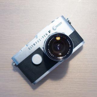 🚚 Olympus Pen FT Film SLR Camera 25mm F2.8 Lens
