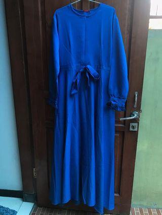 Dress Biru Elektrik (Birel)