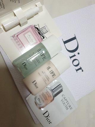 🚚 Dior 3 pcs travel size