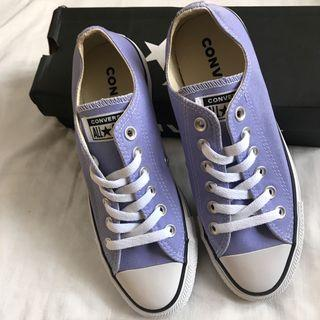 Authentic Converse Purple Chuck Taylor All Star Ox Shoe