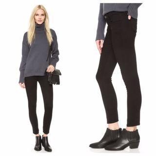 Siwy Hannah Slim Crop Jeans 極瘦九分黑色小直筒牛仔褲