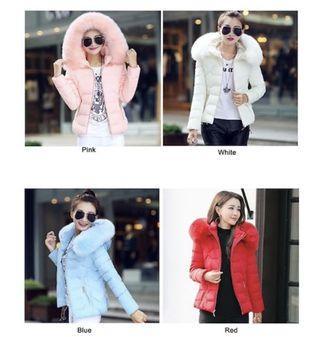 Cheapest Ladies/ Woman Winter Jacket w Detachable fur