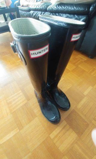 Hunter boots. Size 39