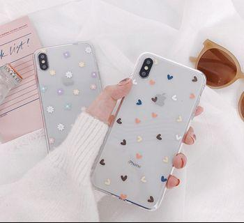 🚚 Floral / Hearts Iphone Case