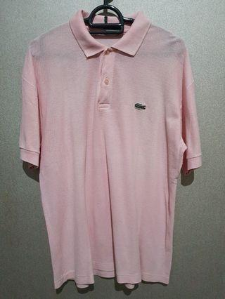 Chemise Lacoste Pink Polo Shirt ori