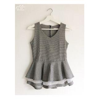 Korean Peplum Top