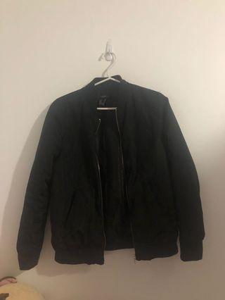 XXI black bomber jacket size small