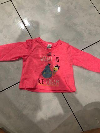 Kaos Tangan Panjang anak