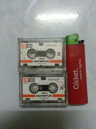 Microcassette olympus xb60