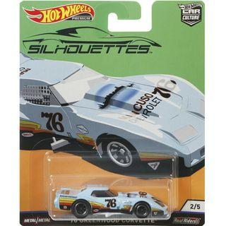 Hotwheels 2019 Silhouettes Series '76 Greenwood Corvette Car Culture Hot Wheels