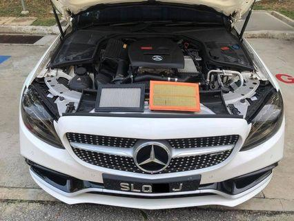 Mercedes w205 C180 Hurricane Air Filter