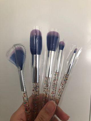 Make up brush sets - 5 pcs