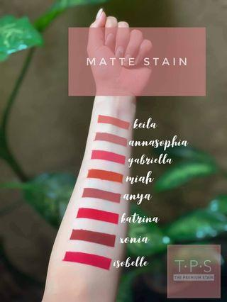 The Premium Matte Stains