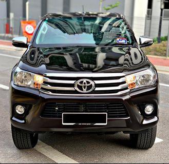 Toyota Hilux Revo 2.4 Spec G 2019