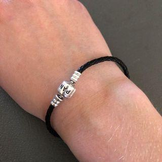 Brand new Leather Pandora bracelet