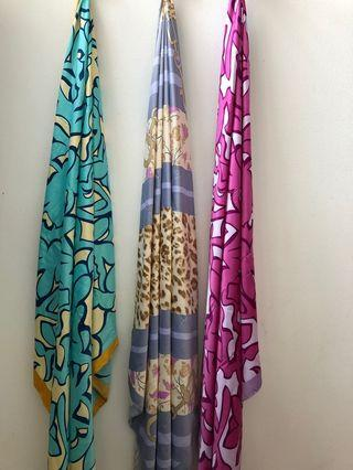 Satin Square Scarf