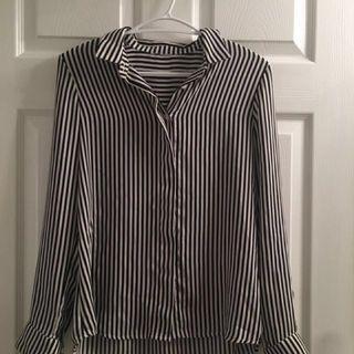 Light striped H&M blouse