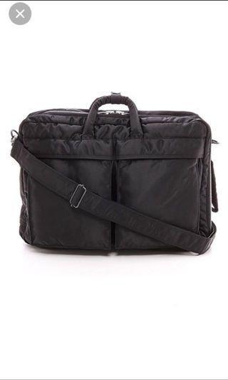 Porter tanker 3 way bag backpack