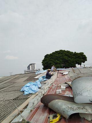 Repair atap & naik bumbung