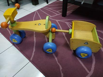 ELC wooden tricycle for kids
