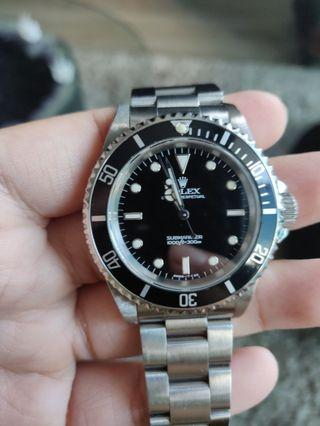 *CERT* Rolex Submariner No Date  14060