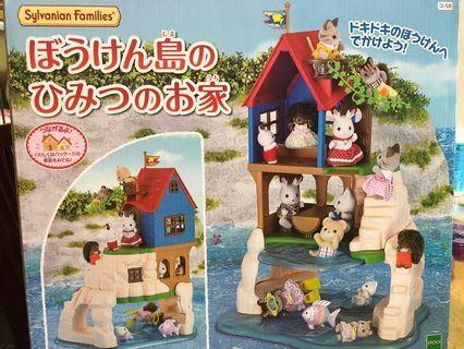 日本🇯🇵全新森林家族Sylvanion Families 探險島小屋