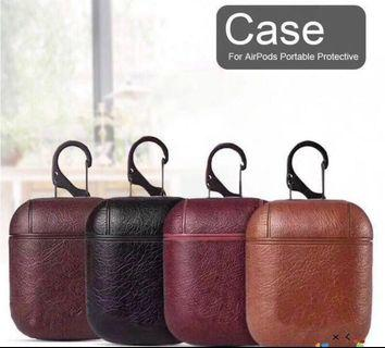 🚚 #CarousellxCasetify LEATHER AIRPODS CASE