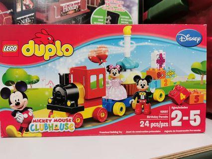 🚚 LEGO duplo Mickey and Minnie Birthday Train
