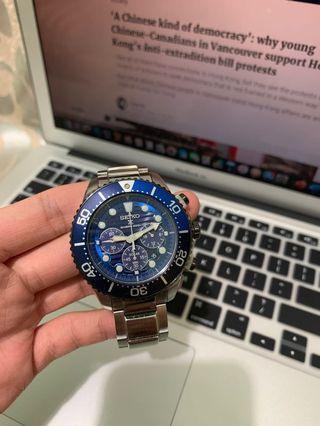 Seiko Save The Ocean special edition 200m chronograph diver