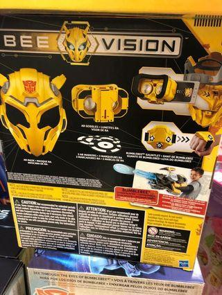 🚚 Transformer Bumblebee Bee Vision AR Mask (compatible with both Android and IOS smart phones)