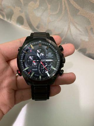 Casio edifice 停產藍芽賽車錶
