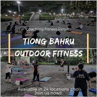 🚚 Outdoor fitness start only S$8