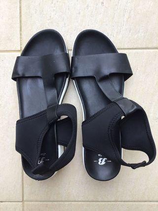 Bata Sandals Black