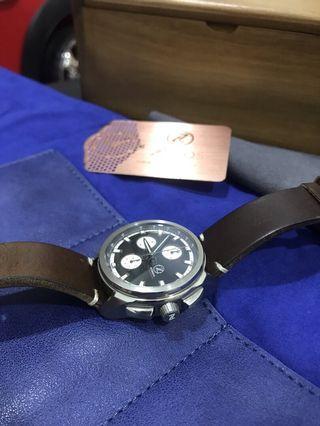 Zelos ZX Chronograph Titanium Watch