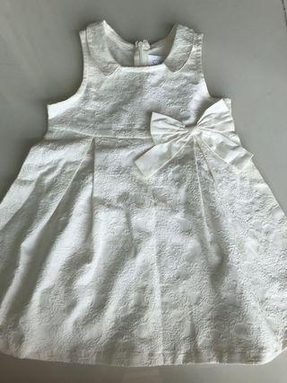 White embroidery dress