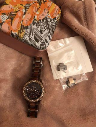 Fossil watch chocolate