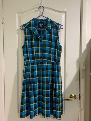 Dangerfield Check Dress (12)