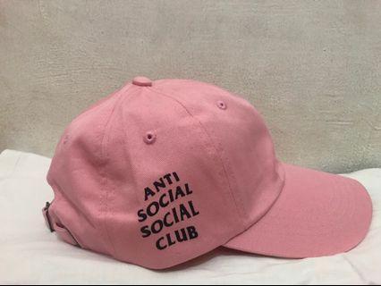 Anti Sosial Sosial Club Original cap pink